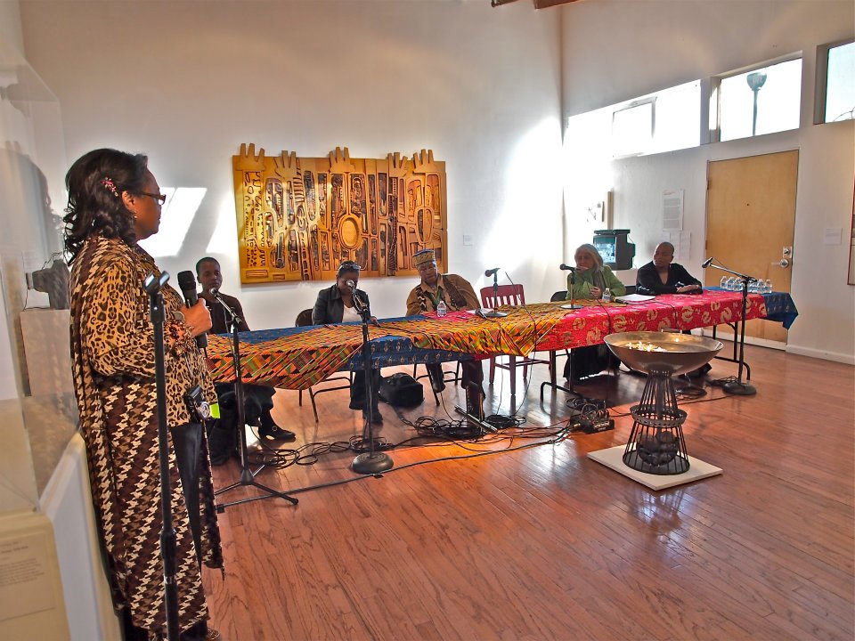 PST WHN~ Artists Discussion at Watts Towers Art Center 1/28/2012.