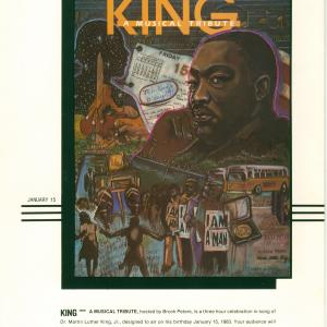 King: A Musical Tribute-& Promo For National Holiday. C. 1982-2012 Asungi Prodct